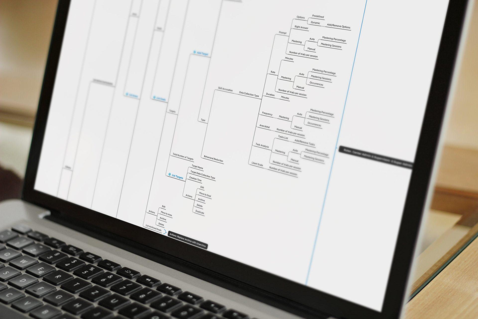 Ynmo - Special Education Management Platform - Information Architecture